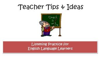Listening Practice for Beginner ELLs