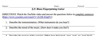 Listening Protocol (LP) Blues Fingerpicking Guitar
