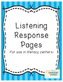 Listening Response Page