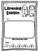 Listening Response Sheets