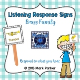 Listening Response Signs-Brass