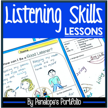 LISTENING SKILLS Worksheets and Activities - Character Education