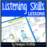 LISTENING SKILLS Character Education Packet