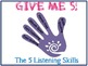 Listening Skills - Give me Five
