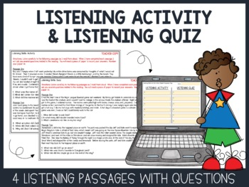 Listening Skills Lesson and Assessment