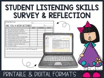 Listening Skills Worksheets