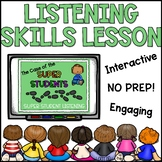 Listening Skills Lesson Plan LOW PREP