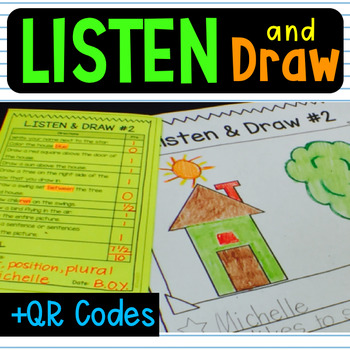 Listen Activity Comprehension Follow Directions