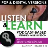 Listening Skills Podcast Activity, Listen & Learn #6, PDF