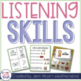 Listening Skills Resource Pack for Speech Therapy & Classrooms!