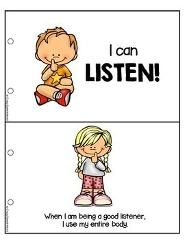 Listening Skills for Speech Therapy & Classrooms!