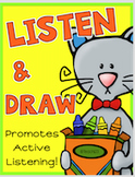 LISTEN & DRAW FOLLOWING DIRECTIONS Fall Winter Spring Summ