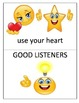 Listening Skills, What good listeners do...