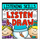 Listen and Draw Listening Comprehension Activity