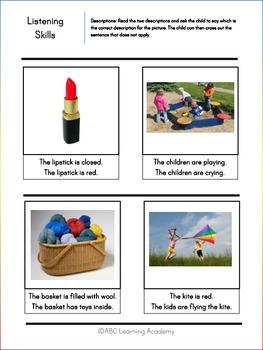 Listening Skills for Preschoolers