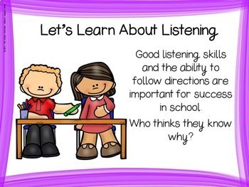 Listening Story and Game