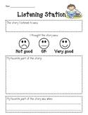 Listening Station Form