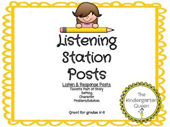 Listening Station (Post/Response Sheets)