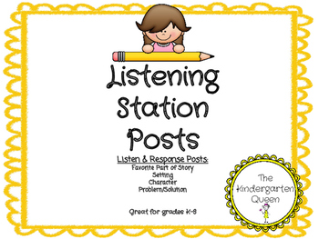 Listening Station (Post/Response Sheets)