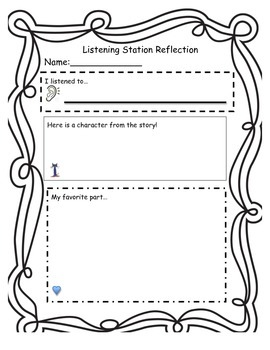 Listening Station Reflections