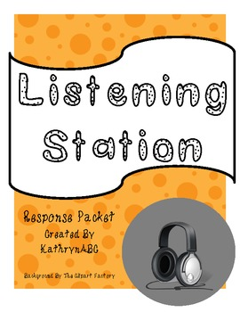 Listening Station Response Packet (Common Core)