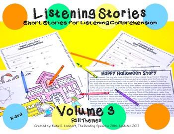 Listening Stories Volume 3: Fall Fun