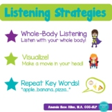Listening Strategies Visual