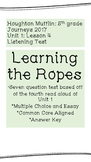 """Listening Test: """"Learning the Ropes"""""""