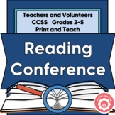 Reading Conference: Teachers And/Or Classroom Volunteers