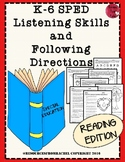 Listening and Following Directions - Reading