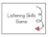 Listening and Following Directions Card Game