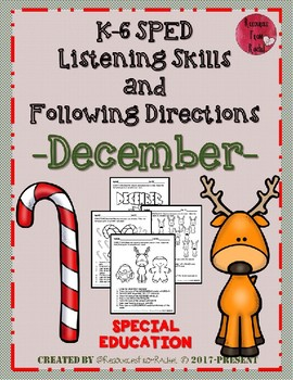 Listening and Following Directions - December
