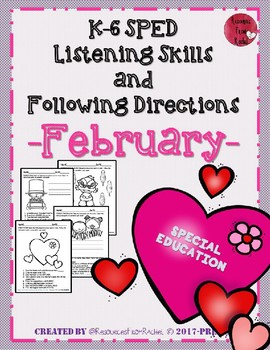 Listening and Following Directions - February