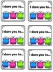 Listening and Following Directions Game