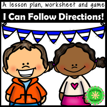 Listening and Following Directions Lesson and Game