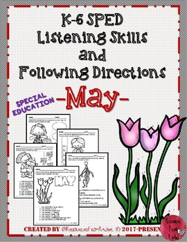 Listening and Following Directions - May