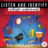 Digital Music Game | Listening and Identifying Instruments