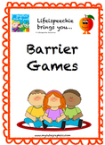 Listening and Learning Barrier Games