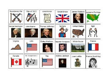 Listening and Learning Domain 5 : War of 1812