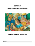 Listening and Learning Grade 1 Early American Civilizations Journal