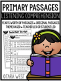 Listening and Reading Comprehension Primary Passages