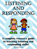 Listening and Responding Resource Guide