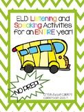 Listening and Speaking Activities (ELD)