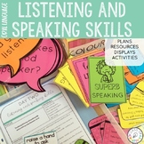 Listening and Speaking Skills Oral Language