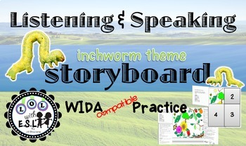 Listening and Speaking Storyboard for WIDA practice
