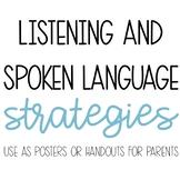 Listening and Spoken Language Strategies