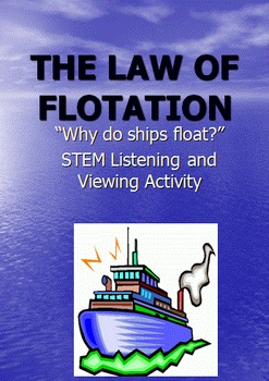 Listening and Viewing Activity: The Law of Flotation