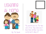 Listening at Home Adapted Book and Social Story
