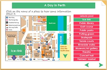 Listening comprehension - A Day in Perth