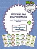 Listening for Comprehension